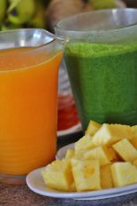 Healthy fresh juices