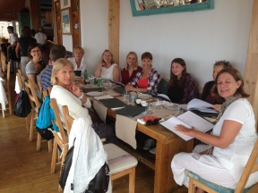 Dinner with yogis Colares